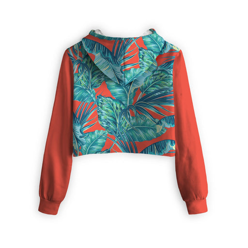 Hawaiian Dreams Cropped Hoodie