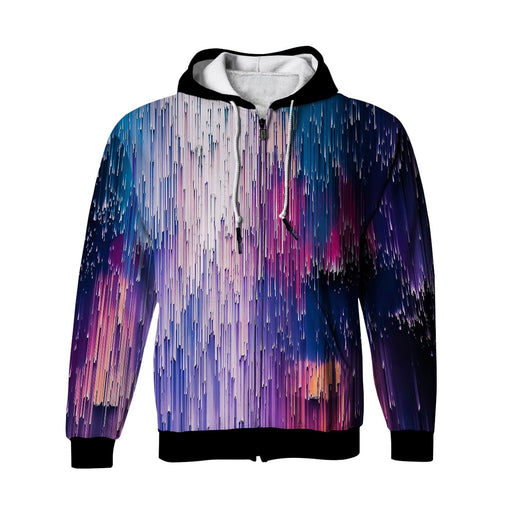 Ethereal Radiations Zip Up Hoodie