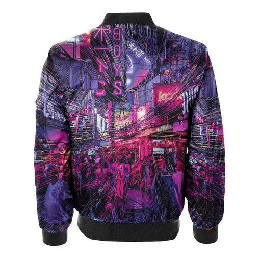 Light Runner Bomber Jacket