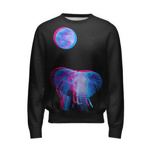 Moon Elephant Sweatshirt