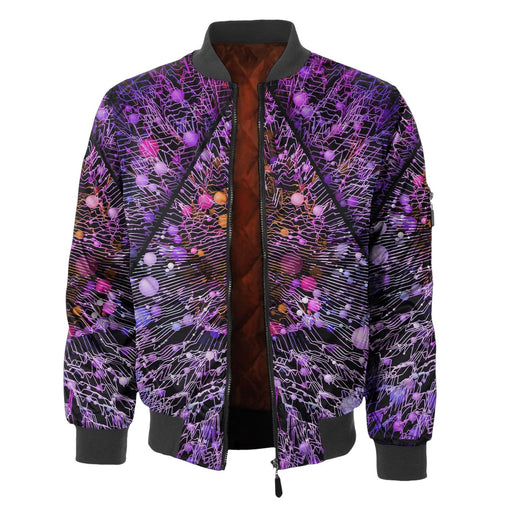 Mystical Crystal Bomber Jacket