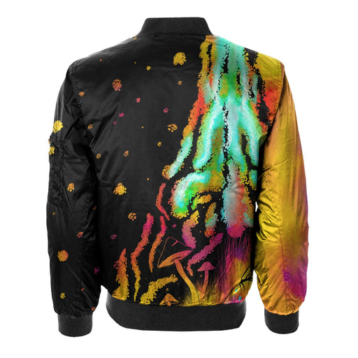Trippy Nights Bomber Jacket