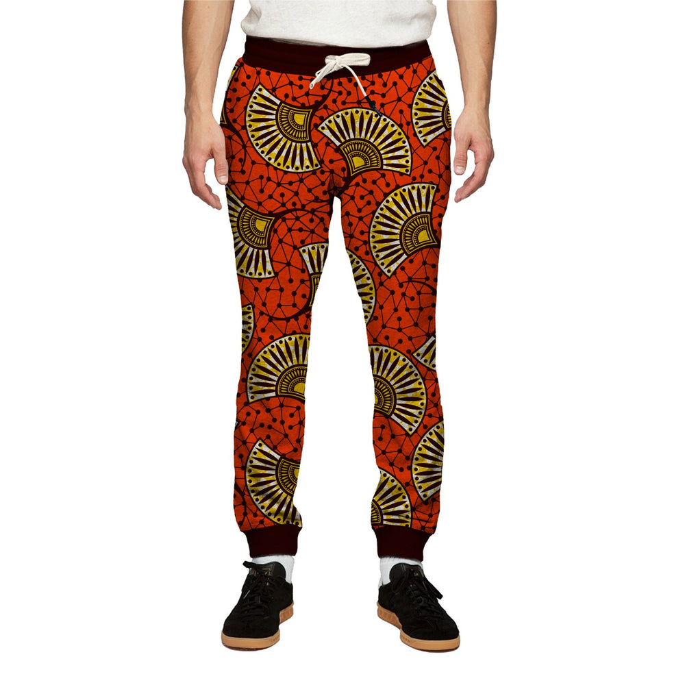 Abstract Fan Sweatpants