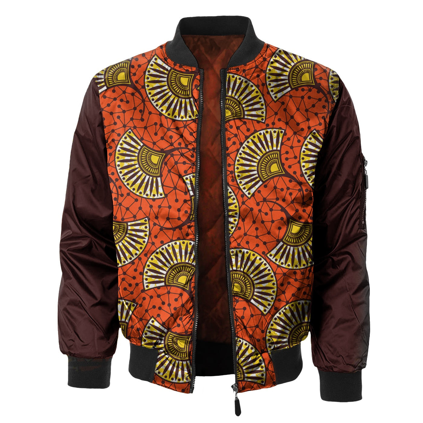 Abstract Fan Bomber Jacket