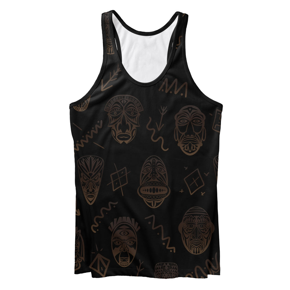 Tribe Face Tank Top