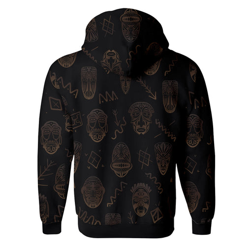 Tribe Face Zip Up Hoodie