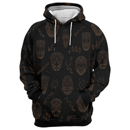 Tribe Face Hoodie