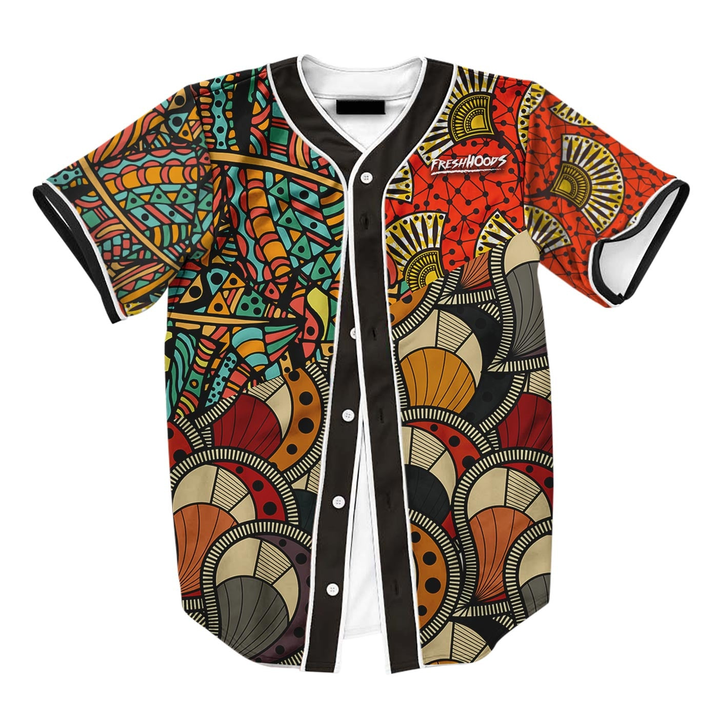 African Pattern Jersey