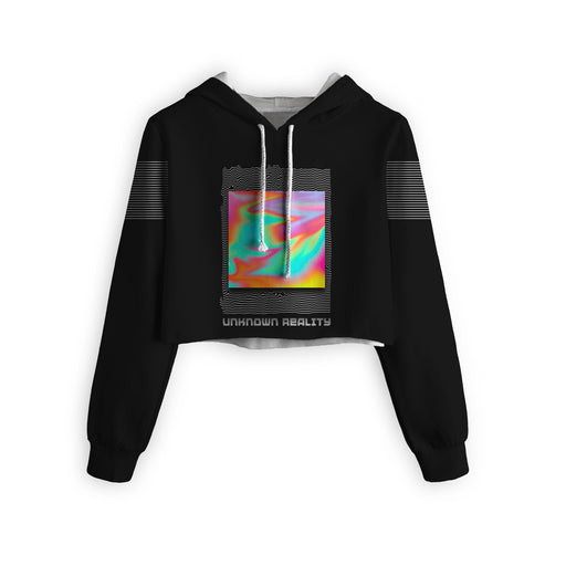 Unkwn Reality Cropped Hoodie