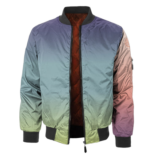Multi Tone Bomber Jacket