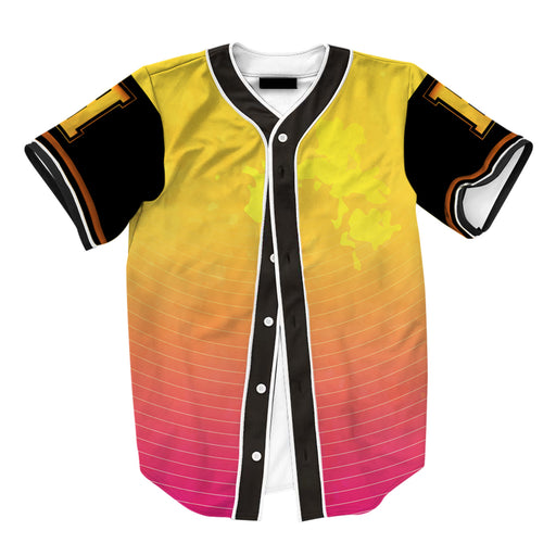 Yellow To Pink Jersey