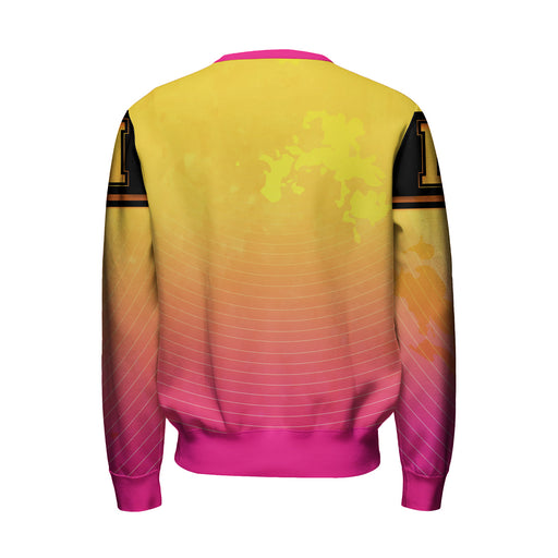 Yellow To Pink Sweatshirt