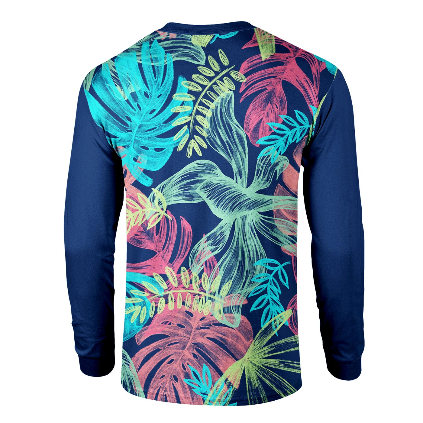 Colorful Leaves Long Sleeve Shirt
