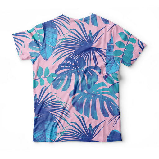 Blue Monstera T-Shirt