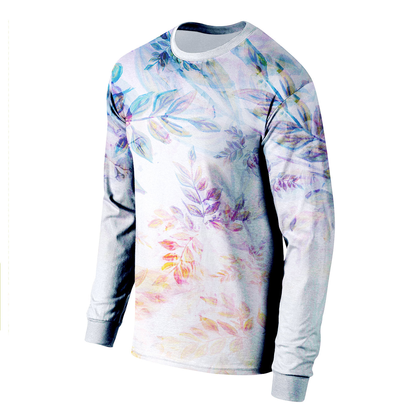 Sunset Bloom Long Sleeve Shirt