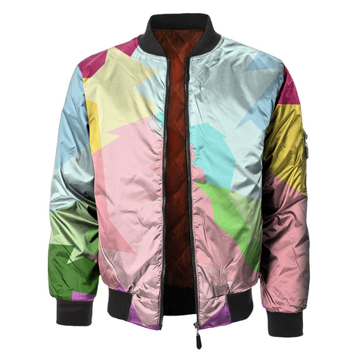 Colorful Ara Bomber Jacket
