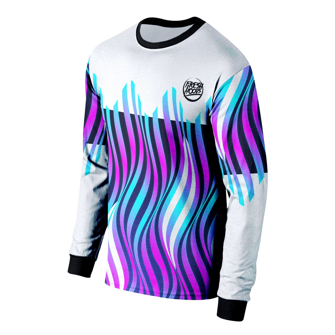 Fresh Wave Long Sleeve Shirt