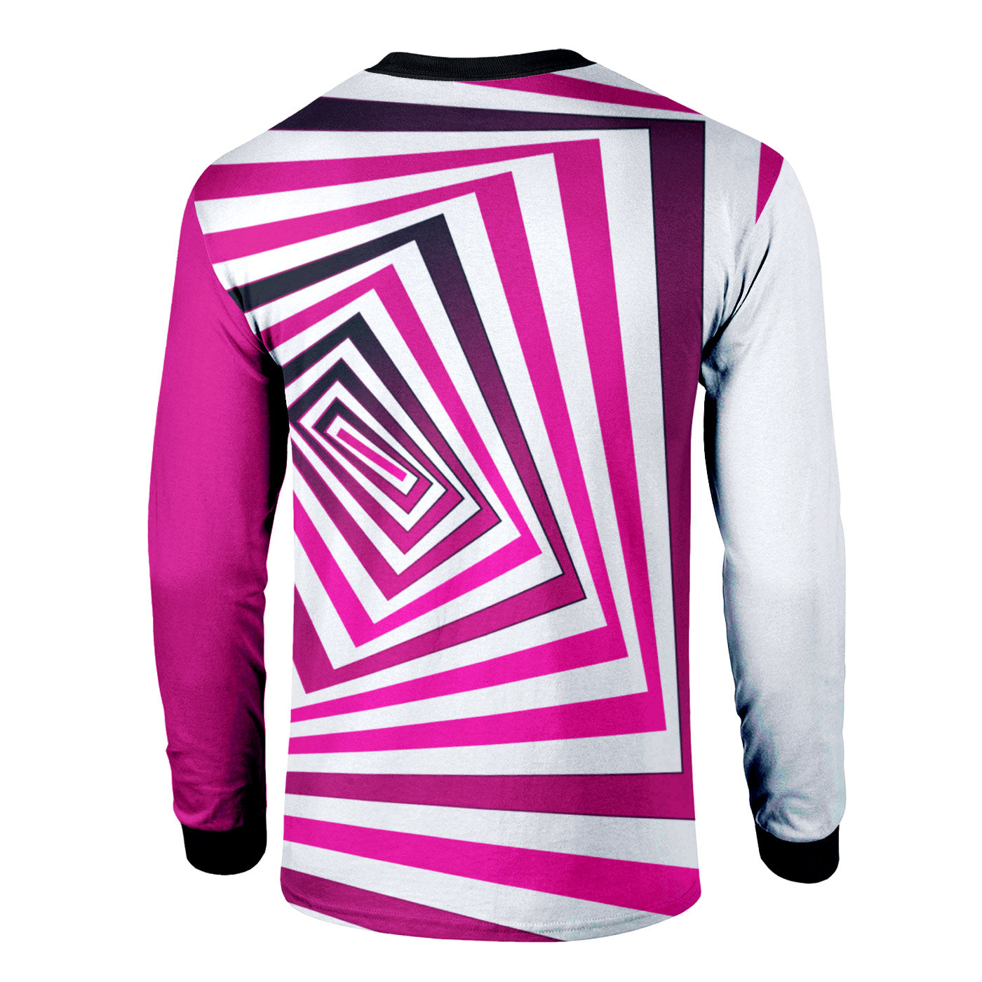 Pink Depth Long Sleeve Shirt