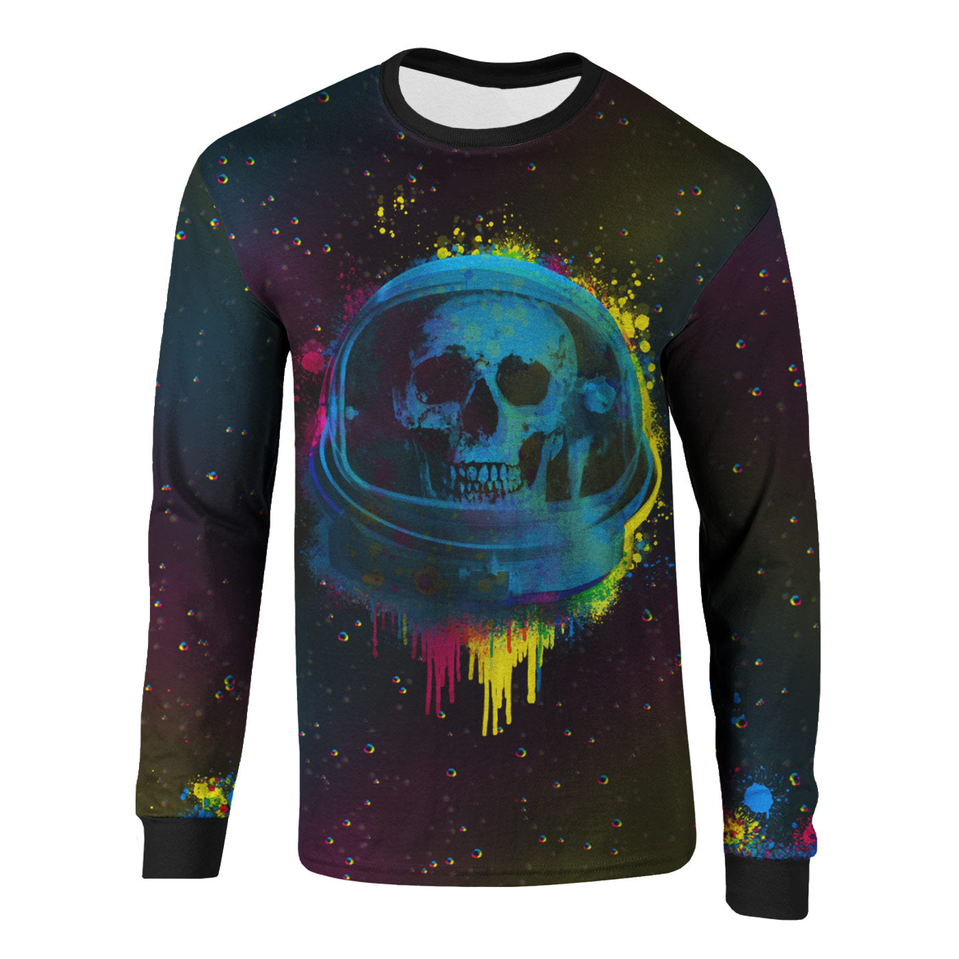 Astro Skull Long Sleeve Shirt