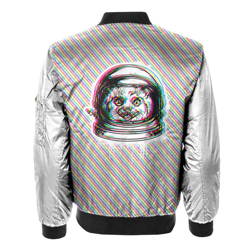 Space Cat Bomber Jacket