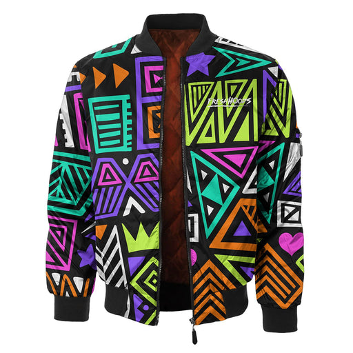 Polygon Tribes Bomber Jacket