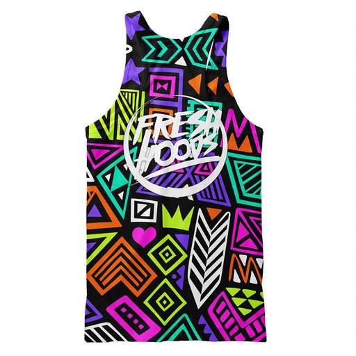 Polygon Tribes Tank Top