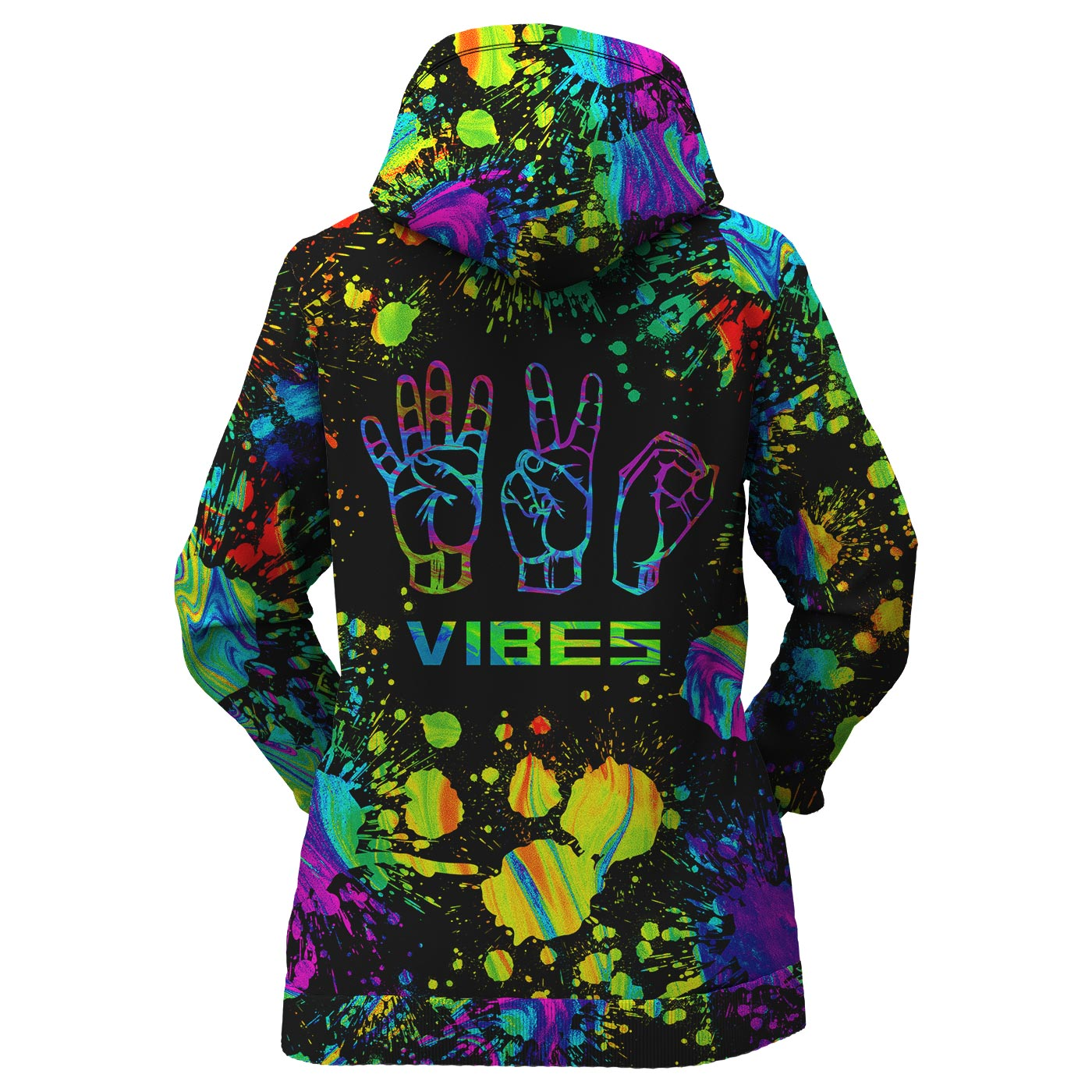 420 Vibes Women Zip Up Hoodie