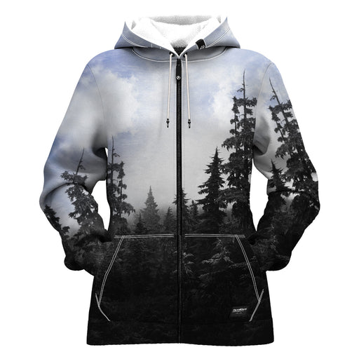 Chilly Morning Women Zip Up Hoodie