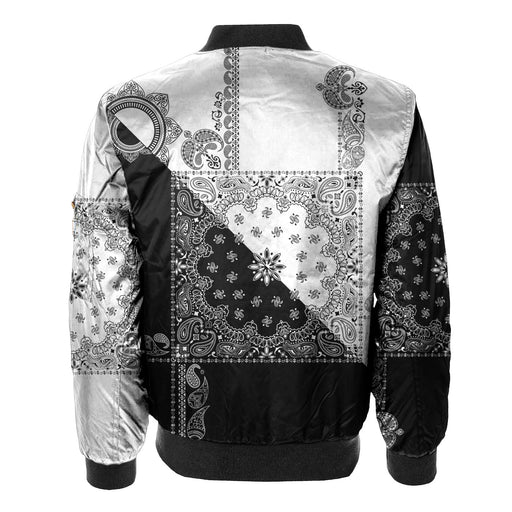 Ethereal Side Bomber Jacket