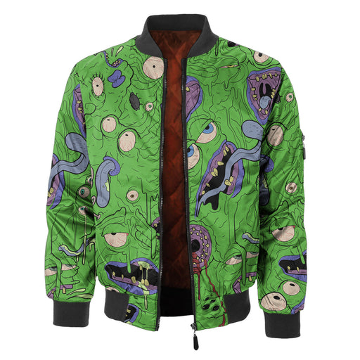 Melted Frog Bomber Jacket