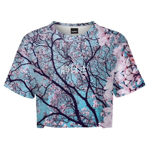 Cherry Blossom Crop Top