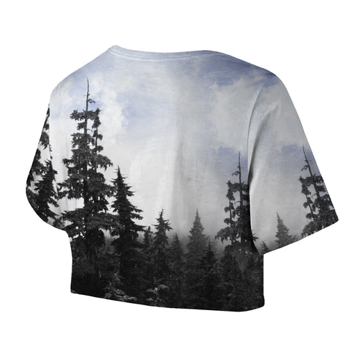 Chilly Morning Unisex Crop Top