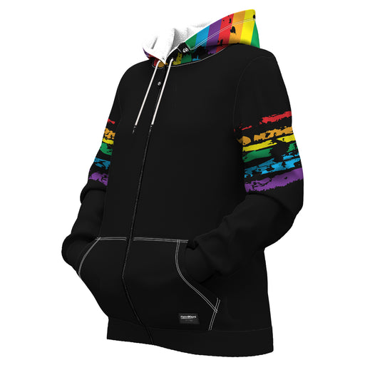 PRIDE Women Zip Up Hoodie