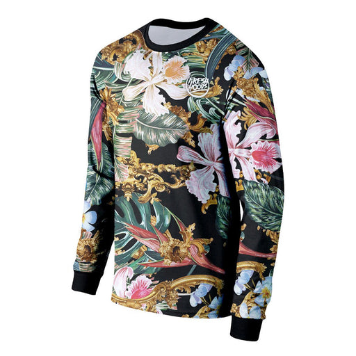 Tropical Baroque Long Sleeve Shirt