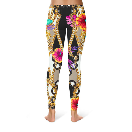 Neon Baroque Leggings