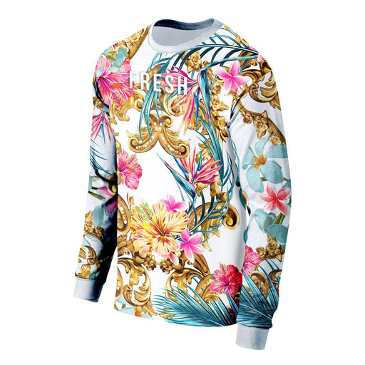 Hidden Hibiscus Long Sleeve Shirt