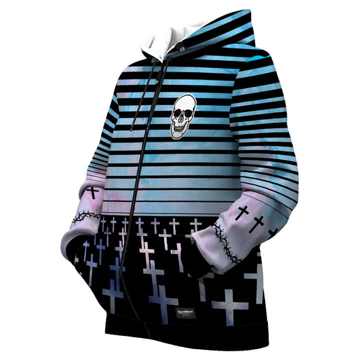 Crosses Women Zip Up Hoodie