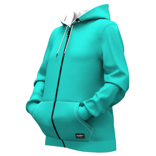 David Florence Women Zip Up Hoodie