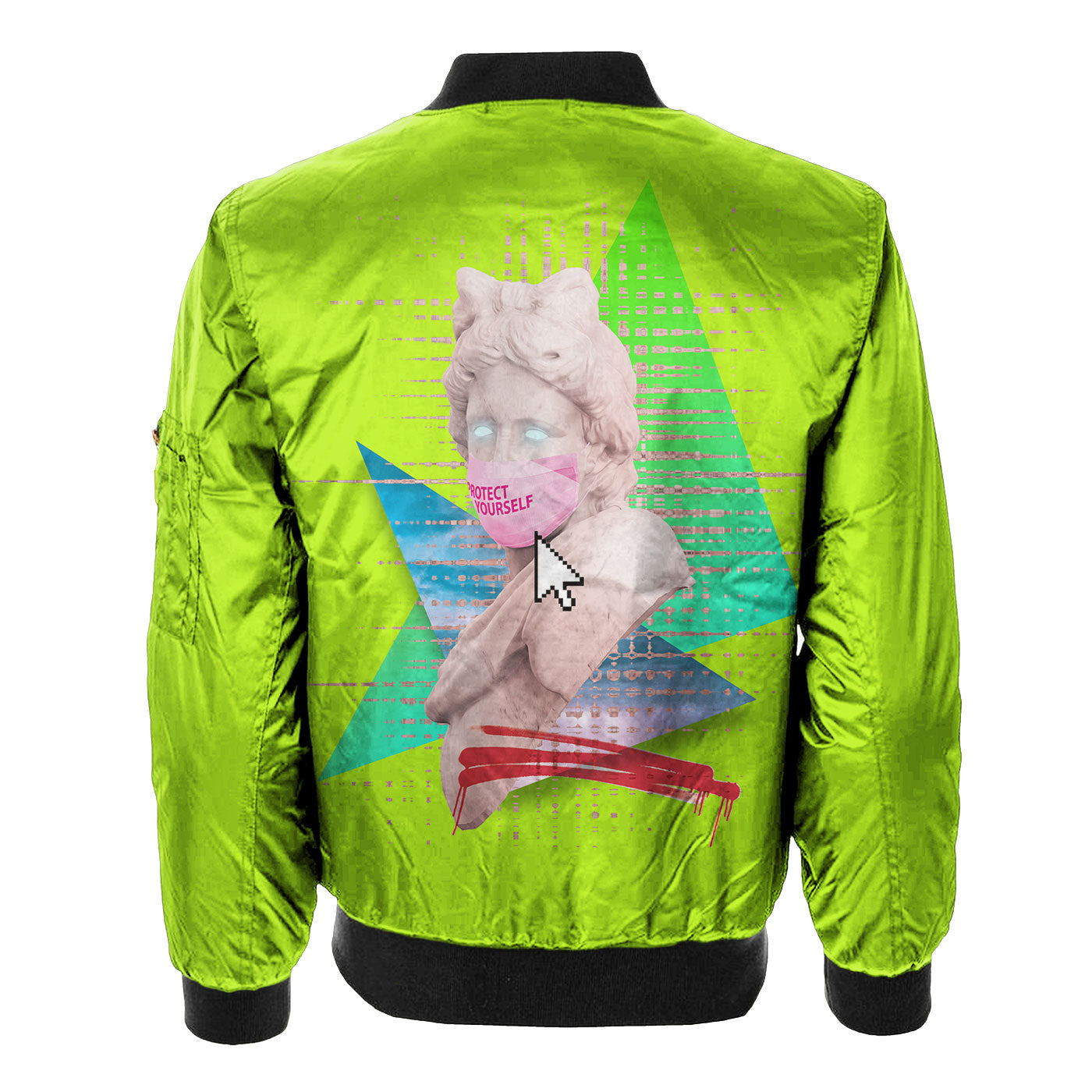 Protect Yourself Bomber Jacket