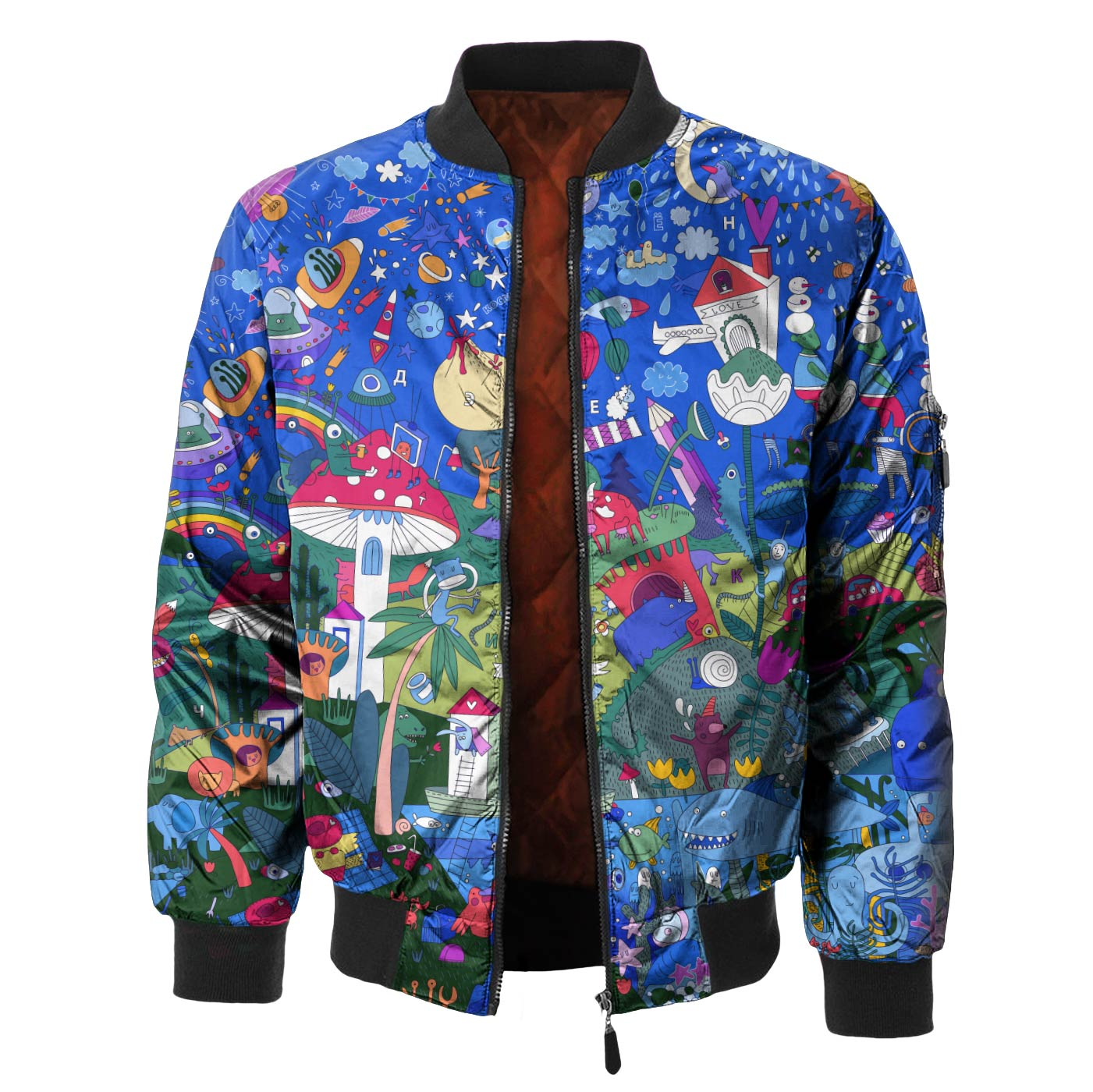 Crazy Town Bomber Jacket