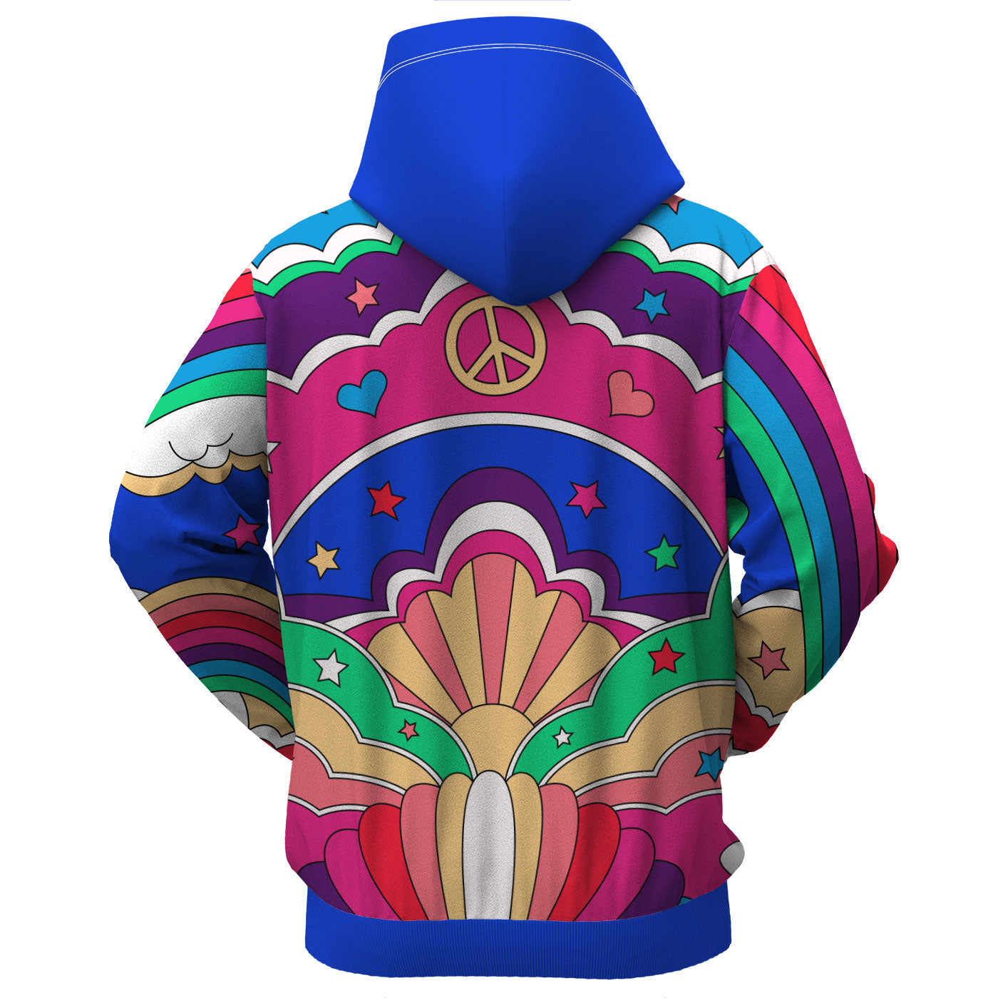Peace N' Love Zip Up Hoodie