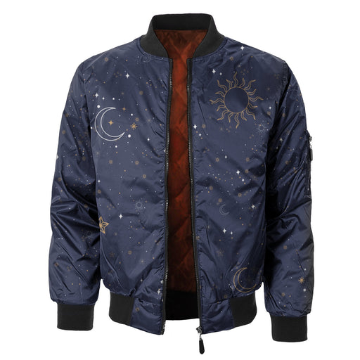 Night Sky Bomber Jacket