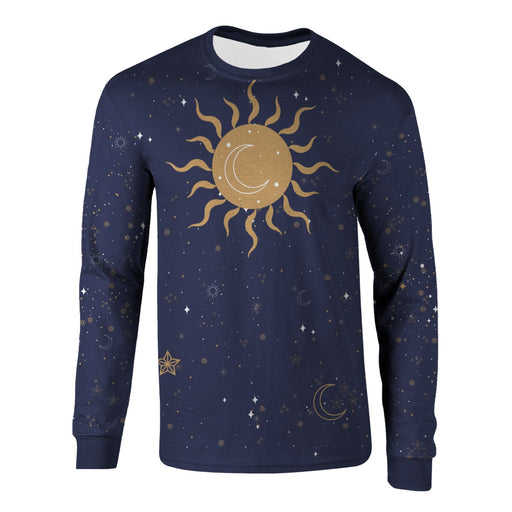 Night Sky Long Sleeve Shirt