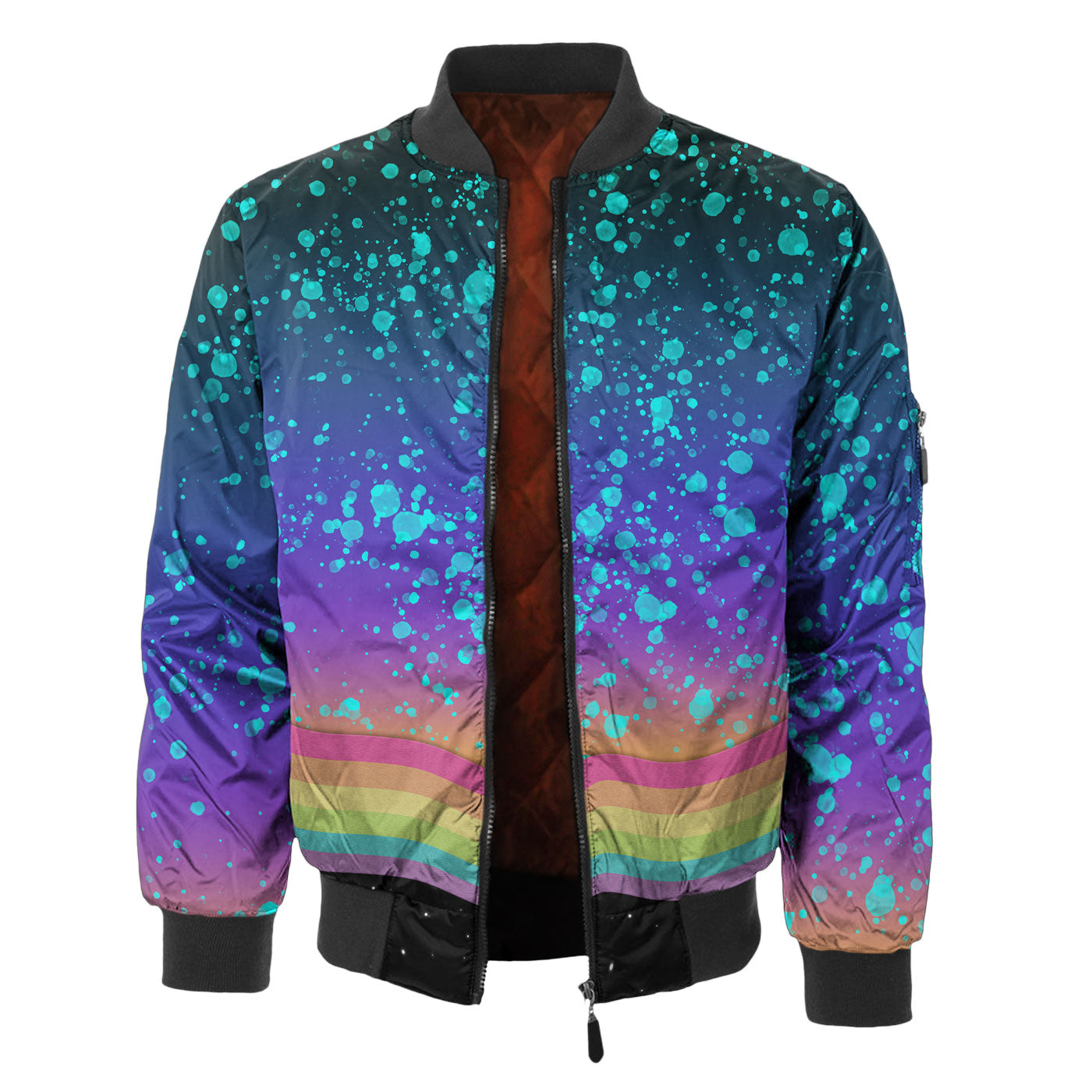 Space Grunge Bomber Jacket