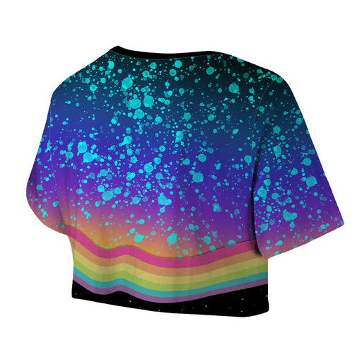 Space Grunge Crop Top