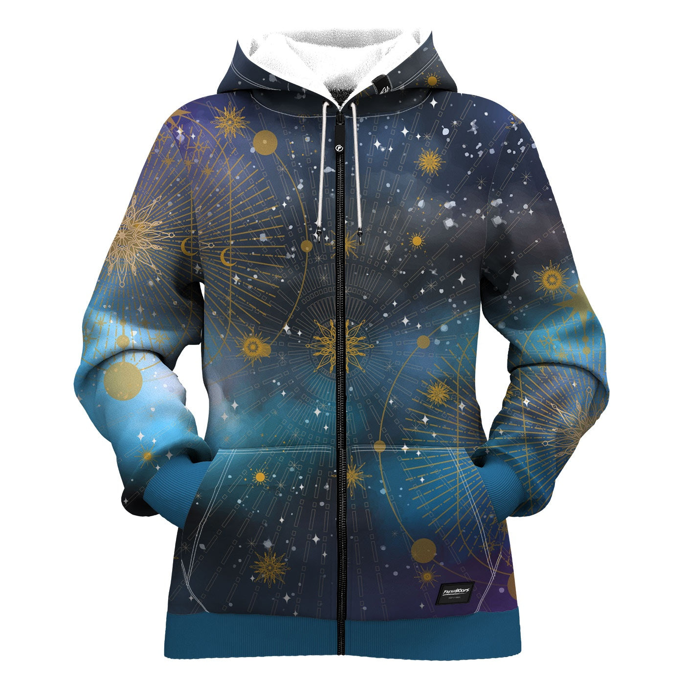 Morning Star Women Zip Up Hoodie