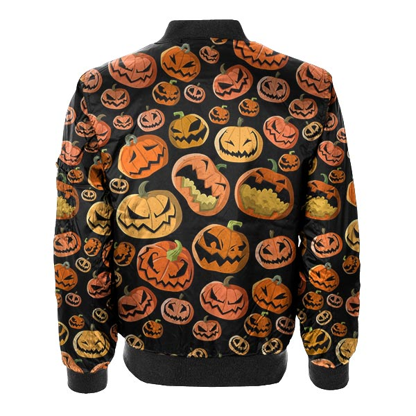 Pumpkin Bomber Jacket