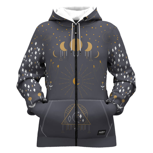 Stargaze Women Zip Up Hoodie