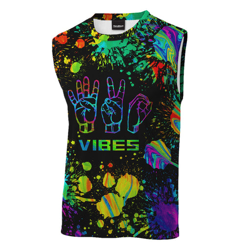 420 Vibes Sleeveless T-Shirt
