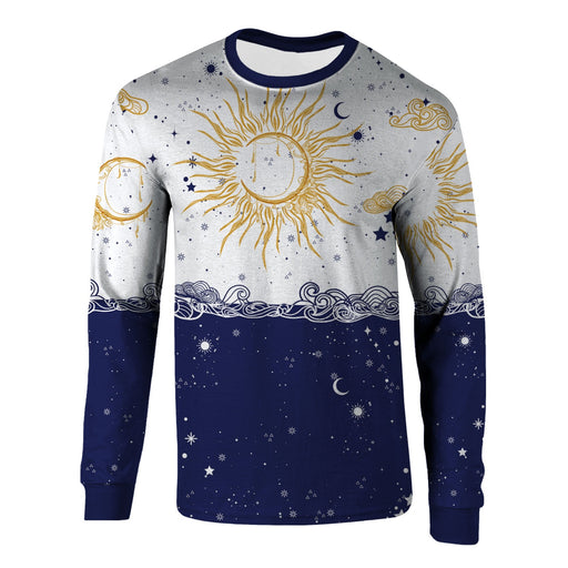 Sun and Moon Long Sleeve Shirt
